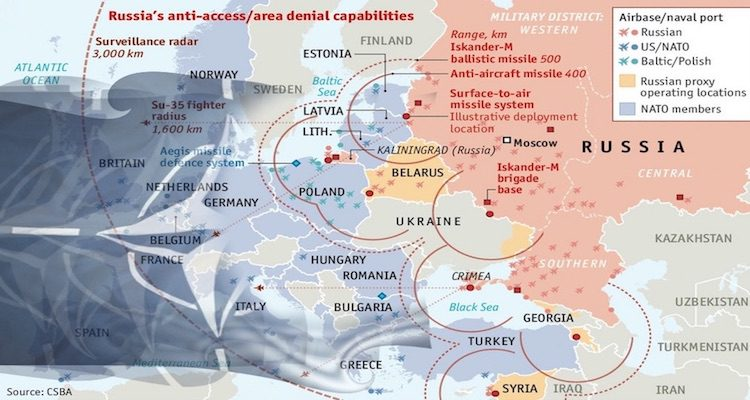 Russian A2AD Strategy and Its Implications for NATO