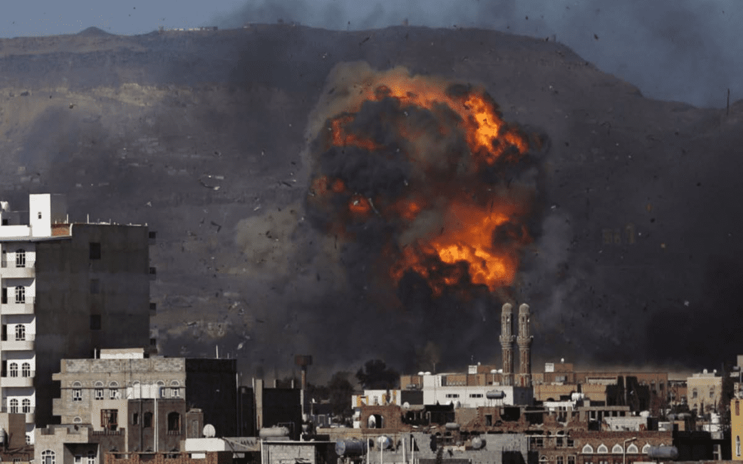Yemen on Fire Beyond the Horizon ISSG