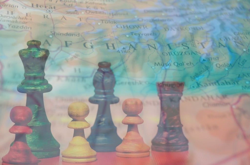 Resurrected Great Game on the Grand Chessboard: Geopolitics on Afghan Soil