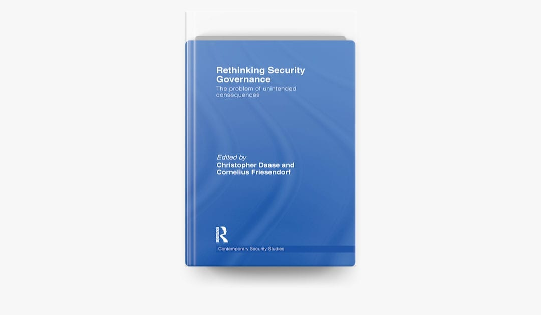 Rethinking Security Governance**